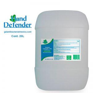 gel antibacterial instrucciones de uso
